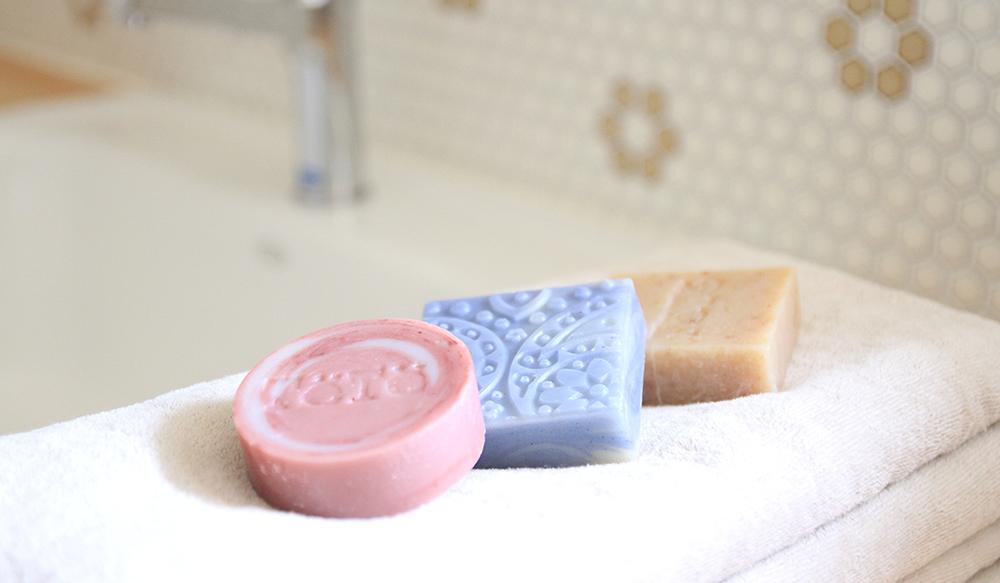 ハンドメイドソープ 石鹸 撮影